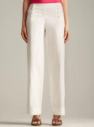 Max Studio Linen Sailor Pant