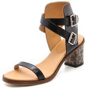 Maison Martin Margiela Leopard Heel Sandals