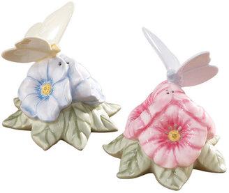 "Lenox Butterfly Meadow"" Figural Salt and Pepper Shaker Set"