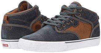 Globe Motley Mid (Black/Turtle Green) Men's Skate Shoes