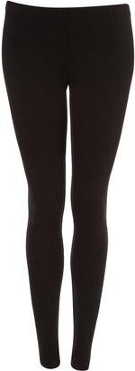 Topshop Black Long Length Ankle Leggings