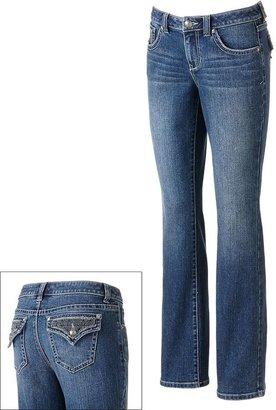 Apt. 9 curvy fit slight bootcut jeans - women's