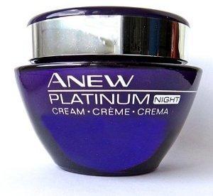 Avon Anew Platinum Night Cream 1.7oz Full Size $38 thestylecure.com