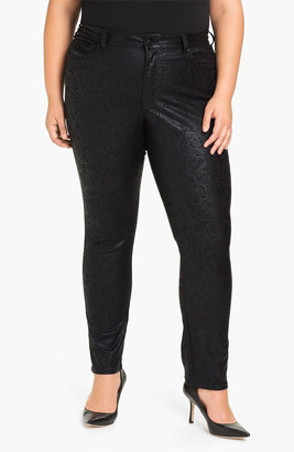 Not Your Daughter's Jeans NYDJ 'Sheri - Gilded Lily' Stretch Denim Jeans (Plus)