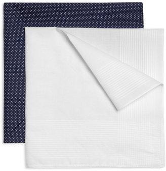 Derek Rose Two-Pack Cotton Handkerchiefs