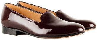 Dieppa Restrepo Dandy Slip On Burgundy Patent Flat