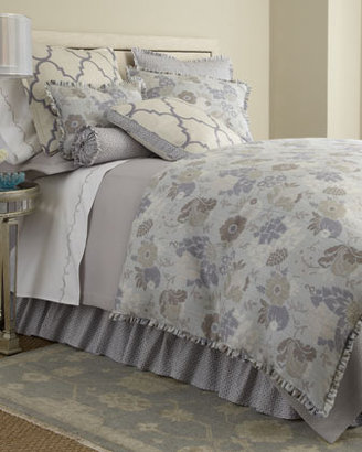 Legacy European Sham with Large Tile Print