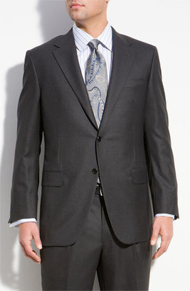 Men's Hickey Freeman 'Addison A-Series' Wool Suit $1,495 thestylecure.com