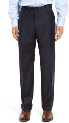 Hart Schaffner Marx Men's Chicago Classic Fit Solid Wool Suit