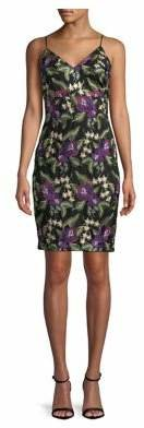 Calvin Klein Sleeveless Lace Embroidered Dress