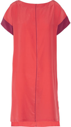 Reed Krakoff Silk crepe de chine shift dress