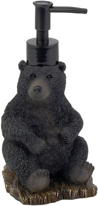 Avanti Black Bear Lodge Soap Dispenser