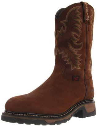 Tony Lama Boots Men's Waterproof Steel Toe TW1019 Work Boot