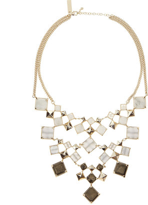 Kendra Scott Mixed-Stone Bib Necklace