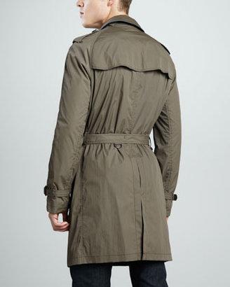 Burberry Nylon Trenchcoat