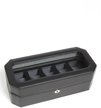 Wolf Windsor Watch Case - Black $89 thestylecure.com