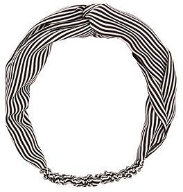 Charlotte Russe Striped Twisted Head Wrap