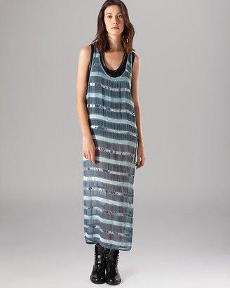 Maje Maxi Dress - Anaconda