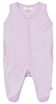 Joha Fair Orchid Romper with Foot