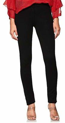 Derek Lam Women's Stretch-Crepe Slim Trousers - Black