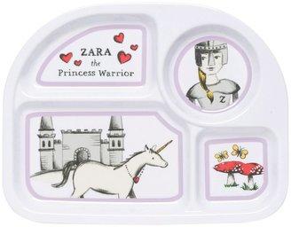 Now Designs Kids Melamine Plate, Little Kingdom