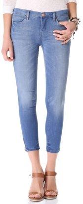 Blank Nerve Agent Capri Jeans