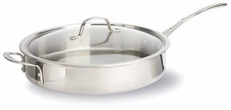 Calphalon Tri-Ply Stainless 5-Quart Covered Sauté Pan