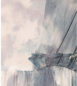 Carven SILK-CHIFFON GOWN
