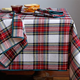 Williams-Sonoma Williams Sonoma Classic Stewart Tartan Tablecloth