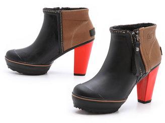 Sorel Medina Rain Ankle Booties