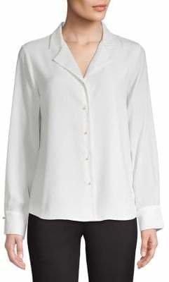 Karl Lagerfeld Paris Long-Sleeve Button-Down Shirt