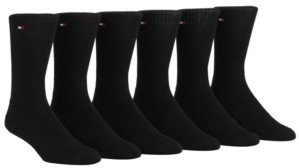 Tommy Hilfiger 6-Pack Sports Crew Socks