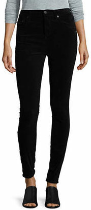 Citizens of Humanity High-Rise Frayed Hem Skinny Jeans
