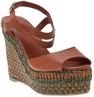 Castaner Yuma woven wedge sandal