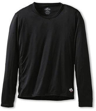 Hot Chillys Kids Peach Crewneck (Little Kids/Big Kids) (Black) Kid's Sweater