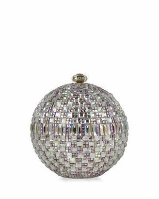 Judith Leiber Couture New Sphere Crystal Minaudiere, Multicolor $3,995 thestylecure.com