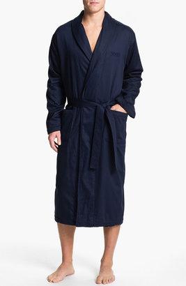 Boss Black Shawl Collar 'Innovation 6' Robe