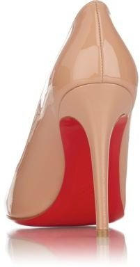 Christian Louboutin Women's Simple Pumps-NUDE
