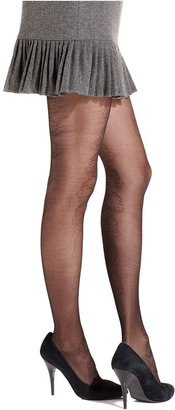 Jessica Simpson Tights, Floral Design Sheer Tights