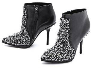 Vera Wang Beacon Embellished Booties