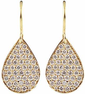 Irene Neuwirth diamond pear shaped drop earrings