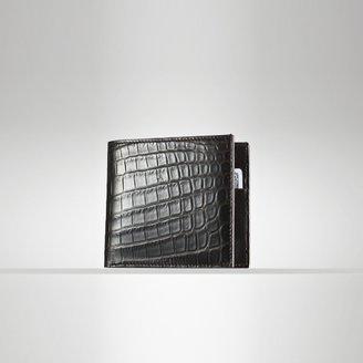 Ralph Lauren Crocodile & Leather Wallet