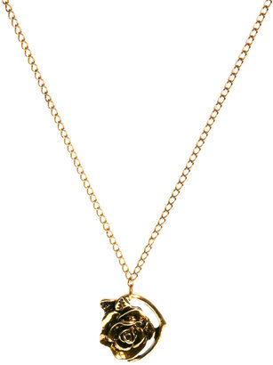 Designsix Rose Charm Necklace