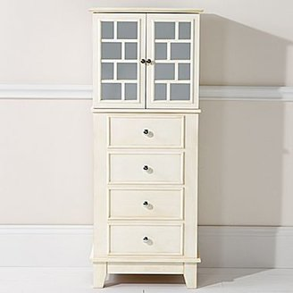 JCPenney White Mirror Jewelry Armoire