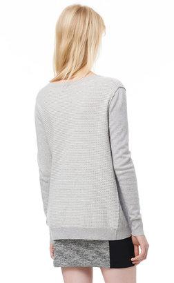 Rebecca Taylor Split Neck Pullover
