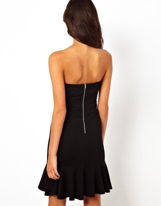 TFNC Dress With Plunge Neck