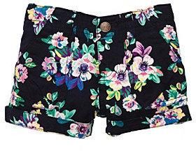 Osh Kosh OshKosh BGosh Girls' 4-6X Navy Floral Print Shorts