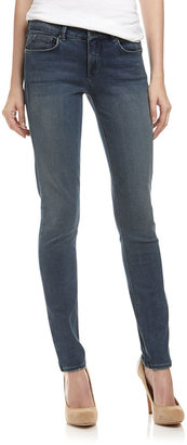 Fade to Blue Stretch Skinny Jeans, Dirty Wash