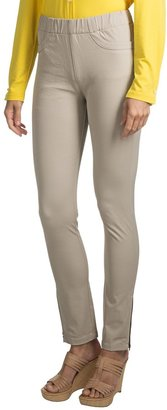 Paperwhite Pull-On Ankle Pants (For Women)