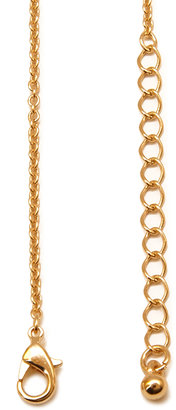 Forever 21 Heart Key Pendant Necklace